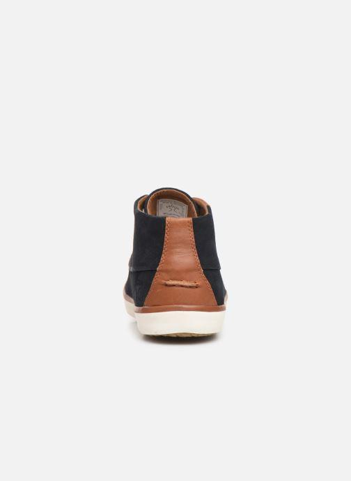 Sneaker Faguo Wattle Suede C blau ansicht von rechts