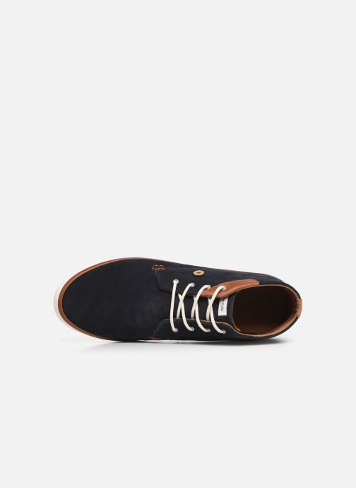 Sneaker Faguo Wattle Suede C blau ansicht von links