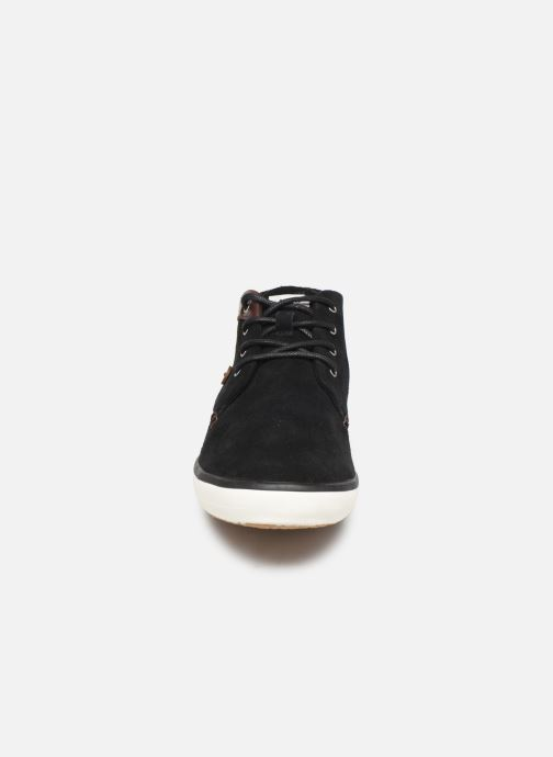 Baskets Faguo Wattle Suede C Noir vue portées chaussures
