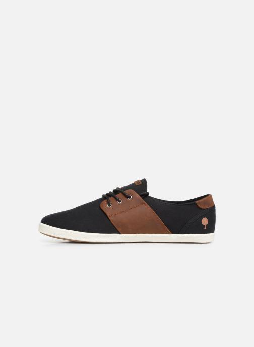 Sneaker Faguo Cypress Cotton Leather schwarz ansicht von vorne