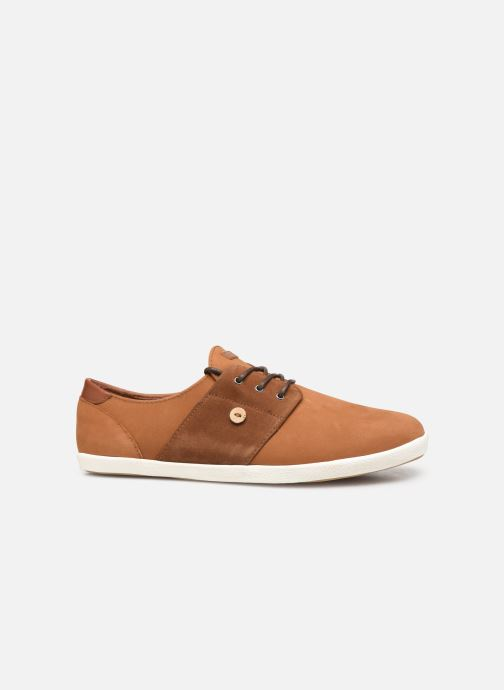 Sneakers Faguo Cypress Leather Suede C Bruin achterkant