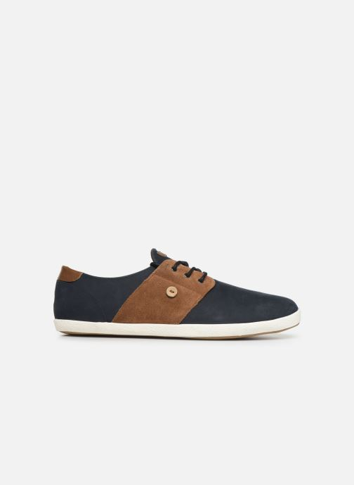 Trainers Faguo Cypress Leather Suede C Blue back view
