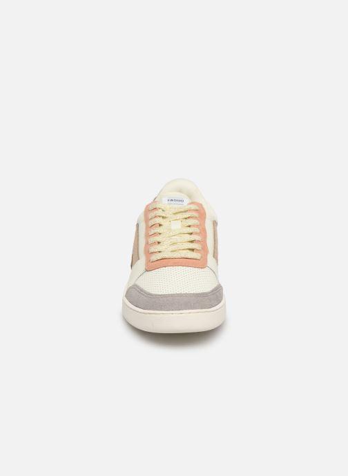 Baskets Faguo Hazel Leather C Blanc vue portées chaussures