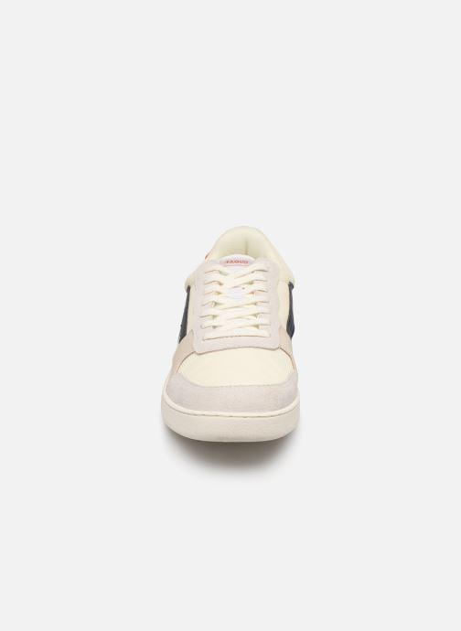 Baskets Faguo Hazel Leather C M Blanc vue portées chaussures
