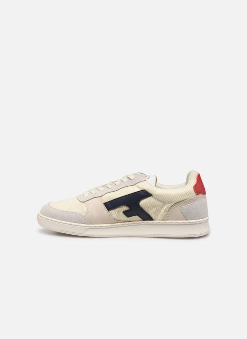 Sneakers Faguo Hazel Leather C Vit bild från framsidan