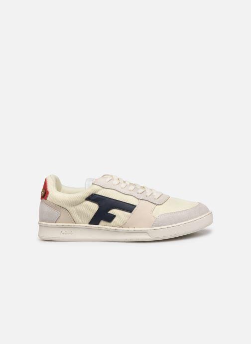 Sneakers Faguo Hazel Leather C Vit bild från baksidan