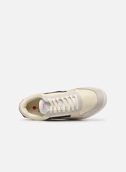 Sneaker Faguo Hazel Leather C weiß ansicht von links