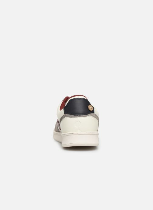 Baskets Faguo Hazel Leather C M Blanc vue droite