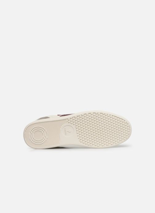 Baskets Faguo Hazel Leather C M Blanc vue haut