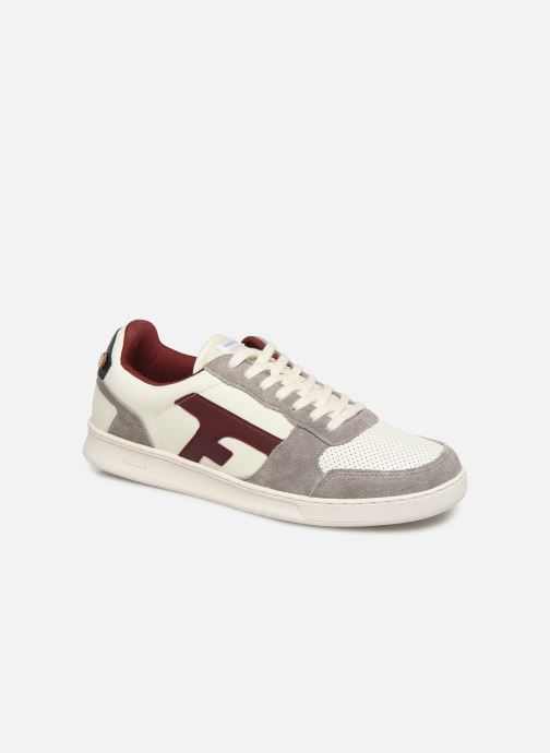 Trainers Faguo Hazel Leather C White detailed view/ Pair view