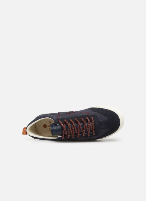 Sneaker Faguo Wellington Suede C blau ansicht von links