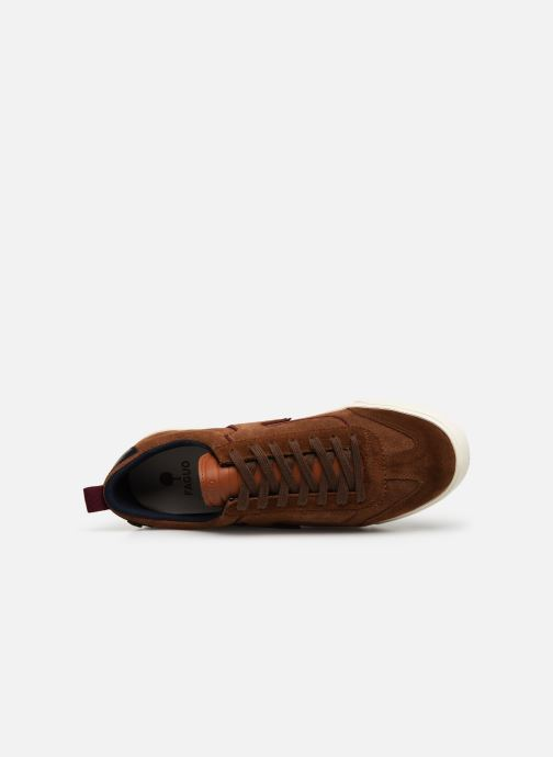 Sneakers Faguo Wellington Suede C Bruin links