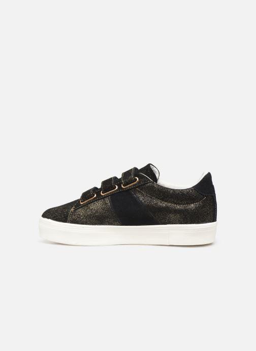 Sneakers Faguo Hosta Suede C Zwart voorkant