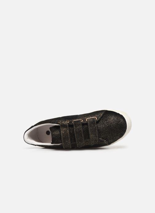 Sneakers Faguo Hosta Suede C Zwart links