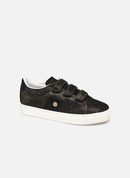 Sneakers Faguo Hosta Suede C Zwart detail