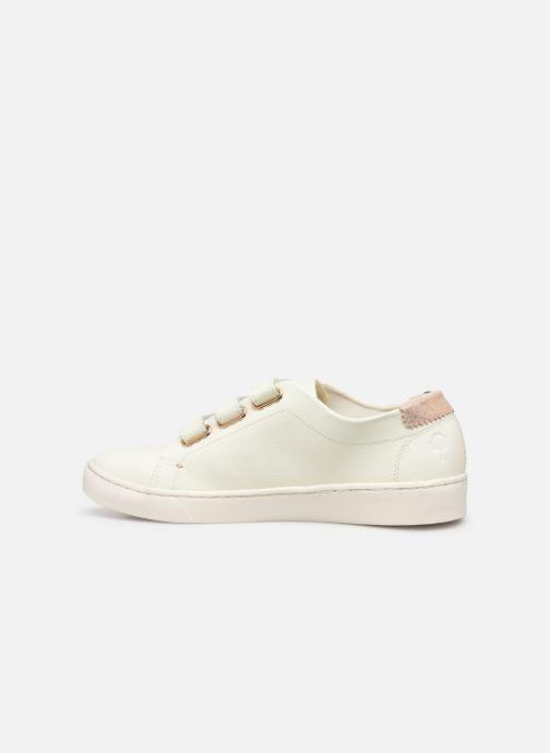 Baskets Faguo Aspenlows Leather C Blanc vue face