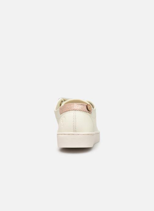 Baskets Faguo Aspenlows Leather C Blanc vue droite