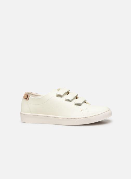 Baskets Faguo Aspenlows Leather C Blanc vue derrière