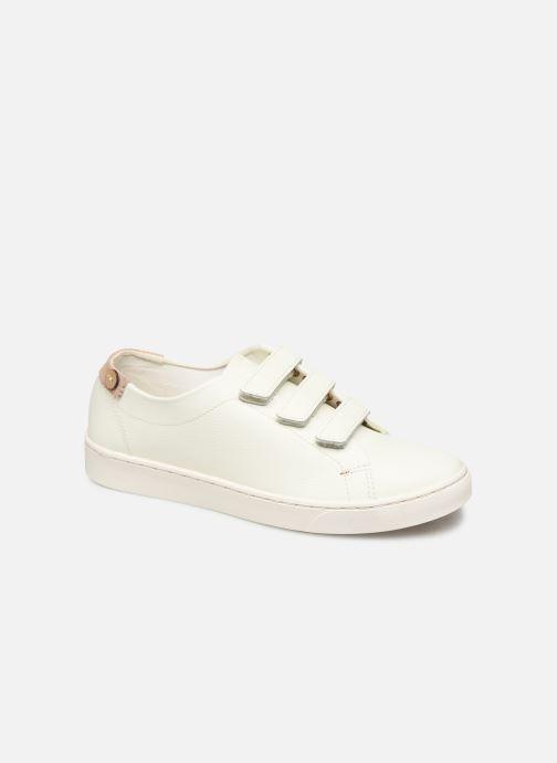 Baskets Faguo Aspenlows Leather C Blanc vue détail/paire