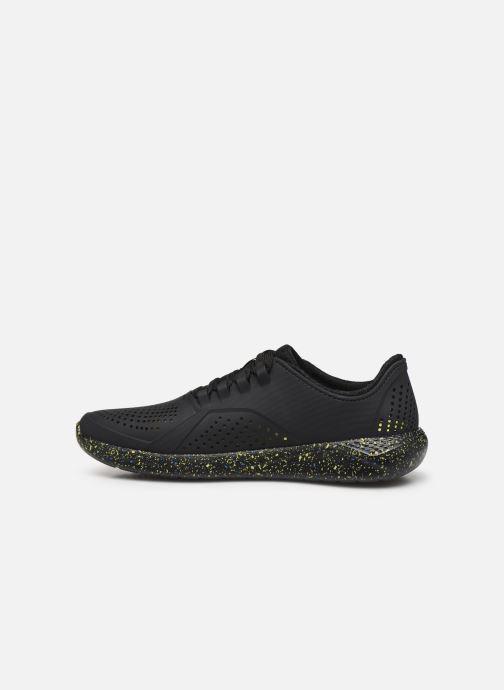 Sneaker Crocs LiteRide Hyper Bold Pacer M schwarz ansicht von vorne