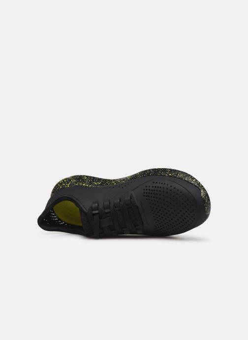 Sneaker Crocs LiteRide Hyper Bold Pacer M schwarz ansicht von links