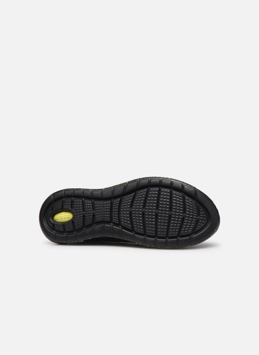 Baskets Crocs LiteRide Hyper Bold Pacer M Noir vue haut