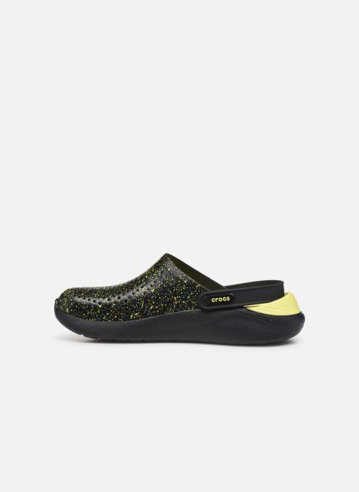 Sandalias Crocs LiteRide Hyper Bold Clog Negro vista de frente