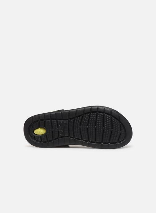 Sandalias Crocs LiteRide Hyper Bold Clog Negro vista de arriba