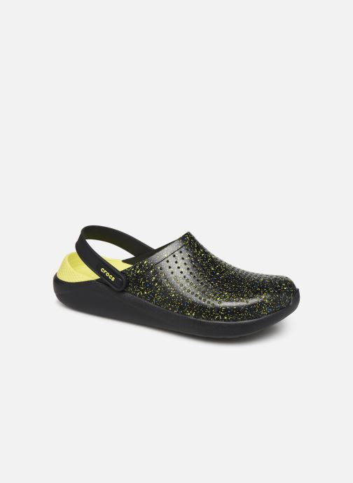 Sandalias Crocs LiteRide Hyper Bold Clog Negro vista de detalle / par