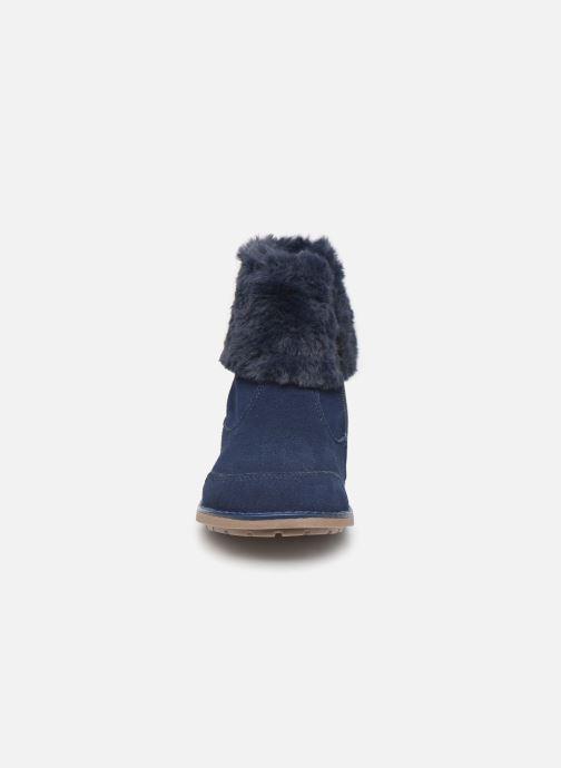 Bottes Mod8 Stelie Bleu vue portées chaussures