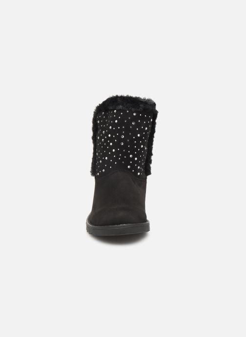 Bottes Mod8 Dounia Noir vue portées chaussures
