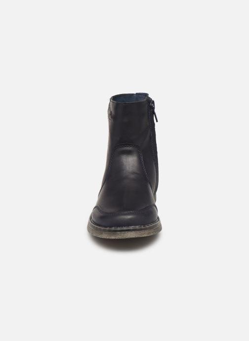 Bottines et boots Mod8 Gueda Bleu vue portées chaussures