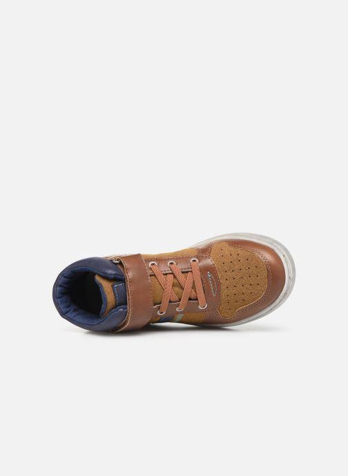 Sneaker Mod8 Volkky braun ansicht von links