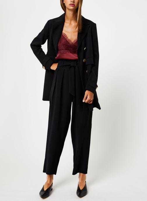 Vêtements School Rag PHILADELPHIE Noir vue bas / vue portée sac