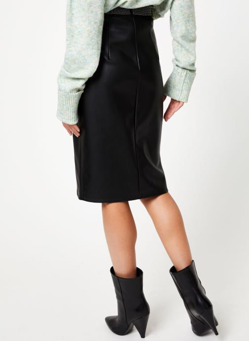 Vêtements School Rag J-LEIYA Noir vue portées chaussures
