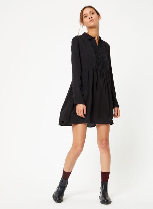 Vêtements School Rag R-LAOMA Noir vue bas / vue portée sac