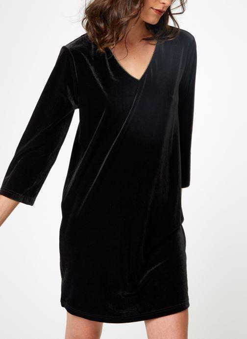 Vêtements School Rag RUIZ VELVET Noir vue détail/paire