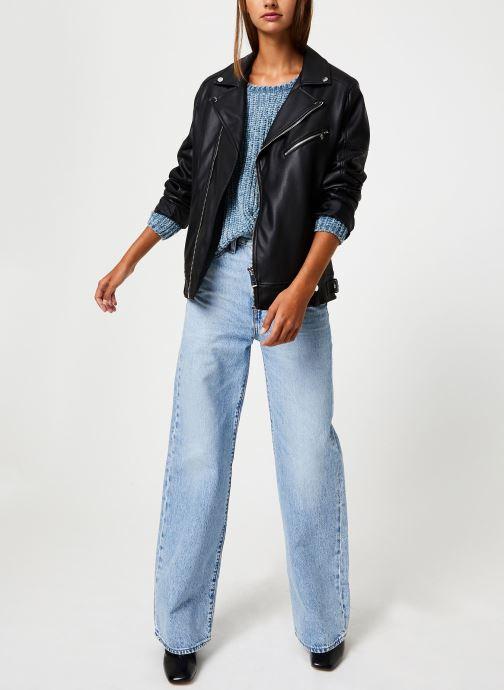 Vêtements School Rag PASOA Bleu vue bas / vue portée sac