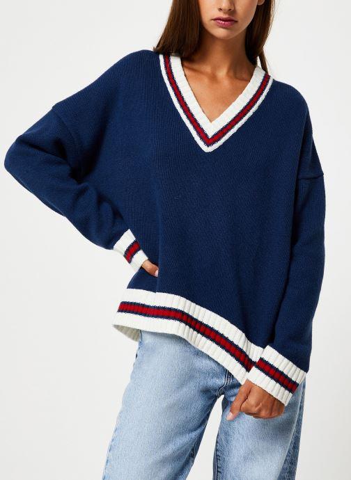 Vêtements School Rag PALAVA Bleu vue détail/paire