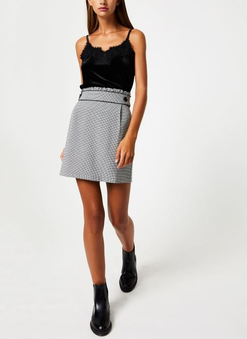 Vêtements School Rag TRINA VELVET Noir vue bas / vue portée sac