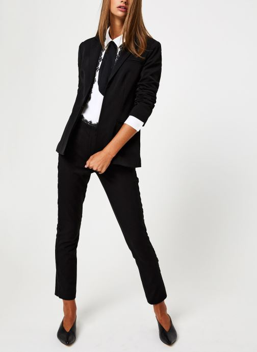 Vêtements School Rag V-LISA Noir vue bas / vue portée sac