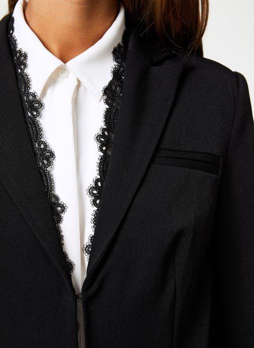 Vêtements School Rag V-LISA Noir vue face