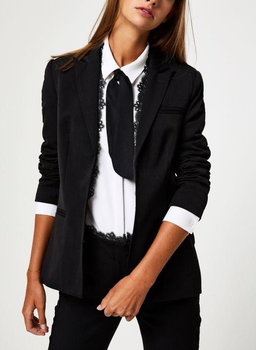 Vêtements School Rag V-LISA Noir vue détail/paire