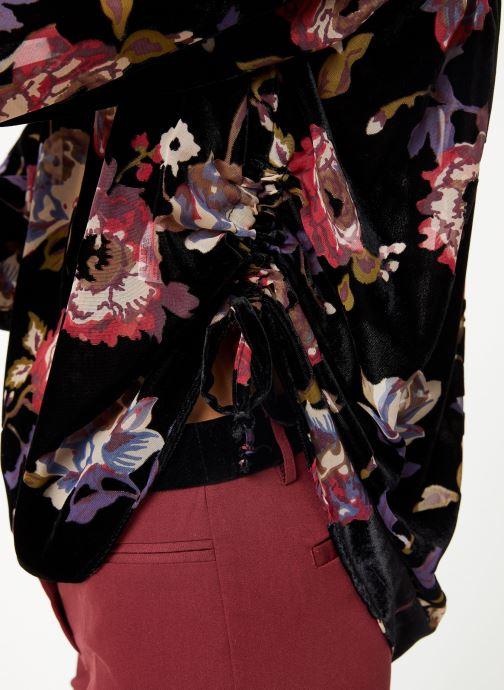 Vêtements School Rag CYLIA VELVET Noir vue face