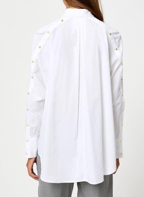 Vêtements School Rag CAMERONE Blanc vue portées chaussures