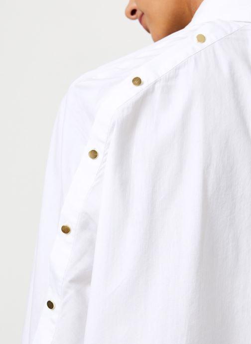 Kleding School Rag CAMERONE Wit voorkant