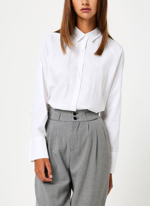 Vêtements School Rag CAMERONE Blanc vue détail/paire