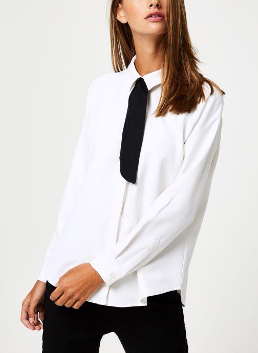 Vêtements School Rag CHRIS Blanc vue droite