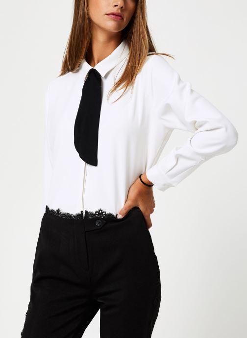 Vêtements School Rag CHRIS Blanc vue détail/paire