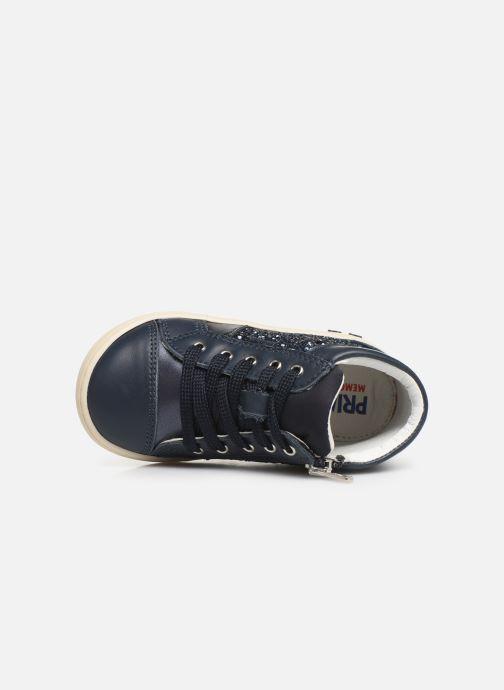 Baskets Primigi PLK 44043 Bleu vue gauche
